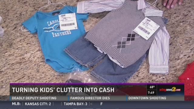 Turn Kids Clutter Into Cash & Help Local Charities