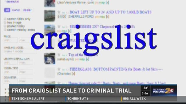 Craigslist Boat Sale Could End In Criminal Trial