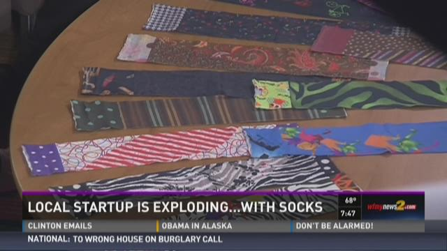 Triad Inventor's Feetless Socks Also Helping Community