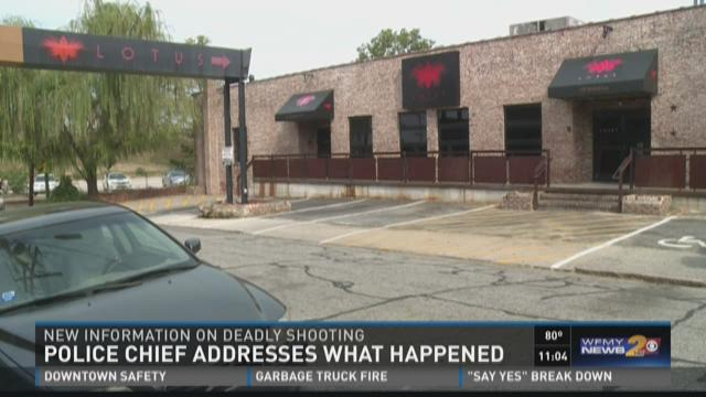 Police Chief Offers More Information About Shooting
