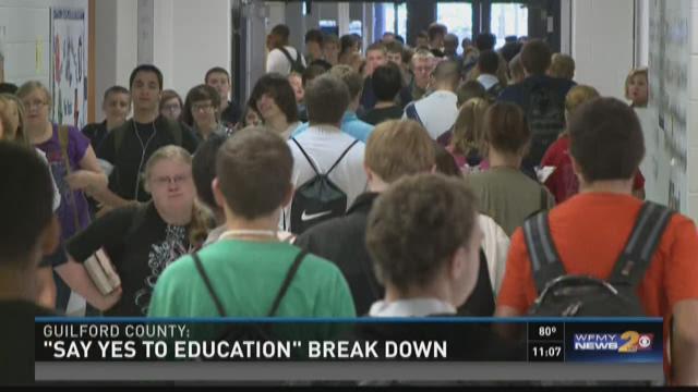 """Say Yes To Education"" Program Breakdown"