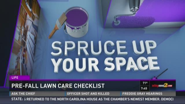 Pre-Fall Lawn Care Check List 4