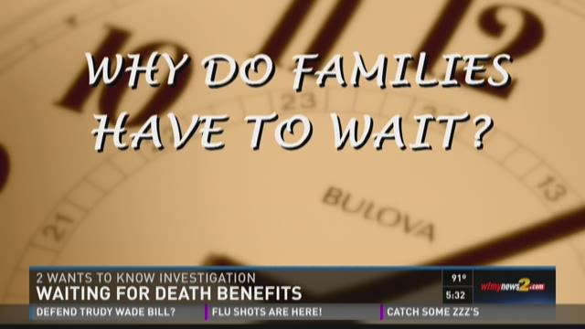 Fallen Heroes' Families Can Wait Years For Benefits