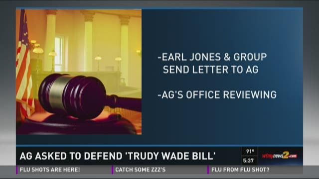 AG Asked To Defend Trudy Wade Bill