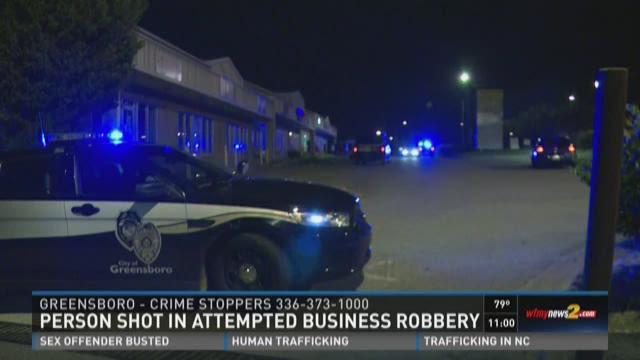Greensboro PD Responds to Shooting
