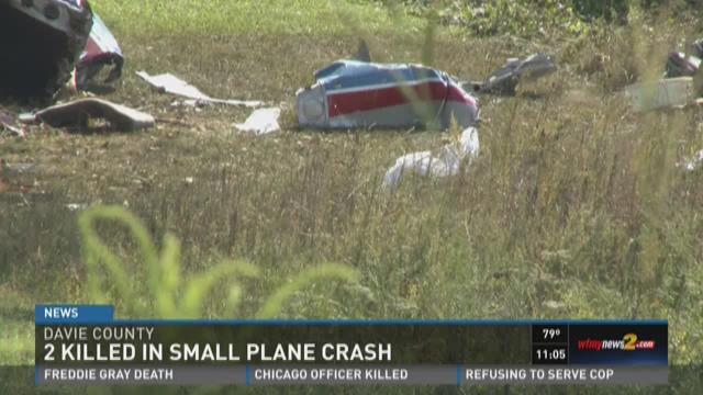 2 Killed in Small Plane Crash