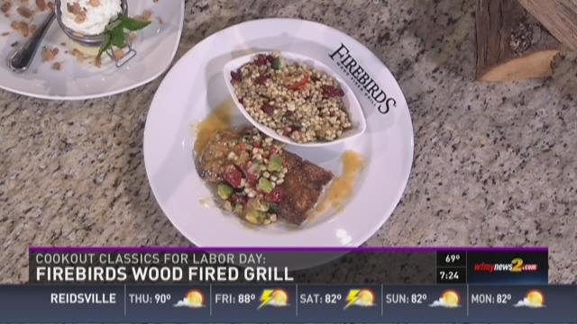 Firebirds In The WFMY News 2 Kitchen