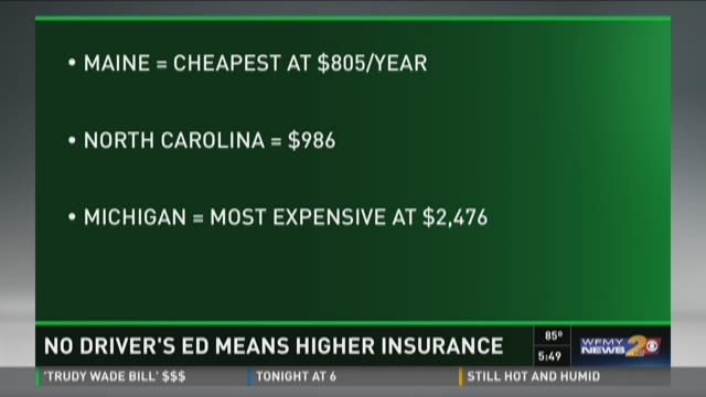 Not Funding Driver's Ed Means Higher Insurance For You