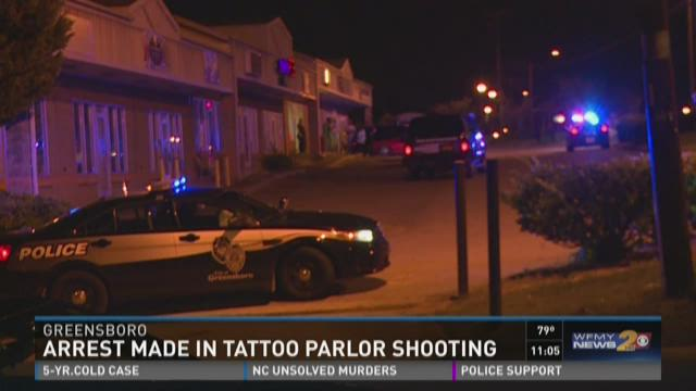Two Arrested in Greensboro Tattoo Parlor Shooting