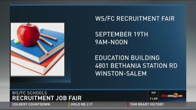 Recruitment Fair For Open School Positions