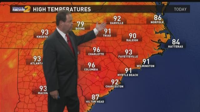 Ed Matthews' Friday Morning Weather Forecast