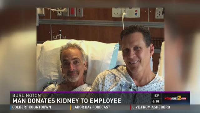 Manager Donates Kidney to Employee