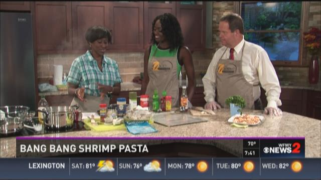 Recipe- Bang Bang Shrimp Pasta
