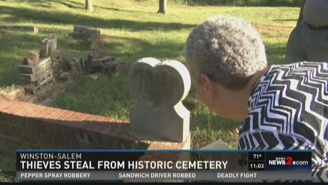 Thieves Steal From Historic Cemetery