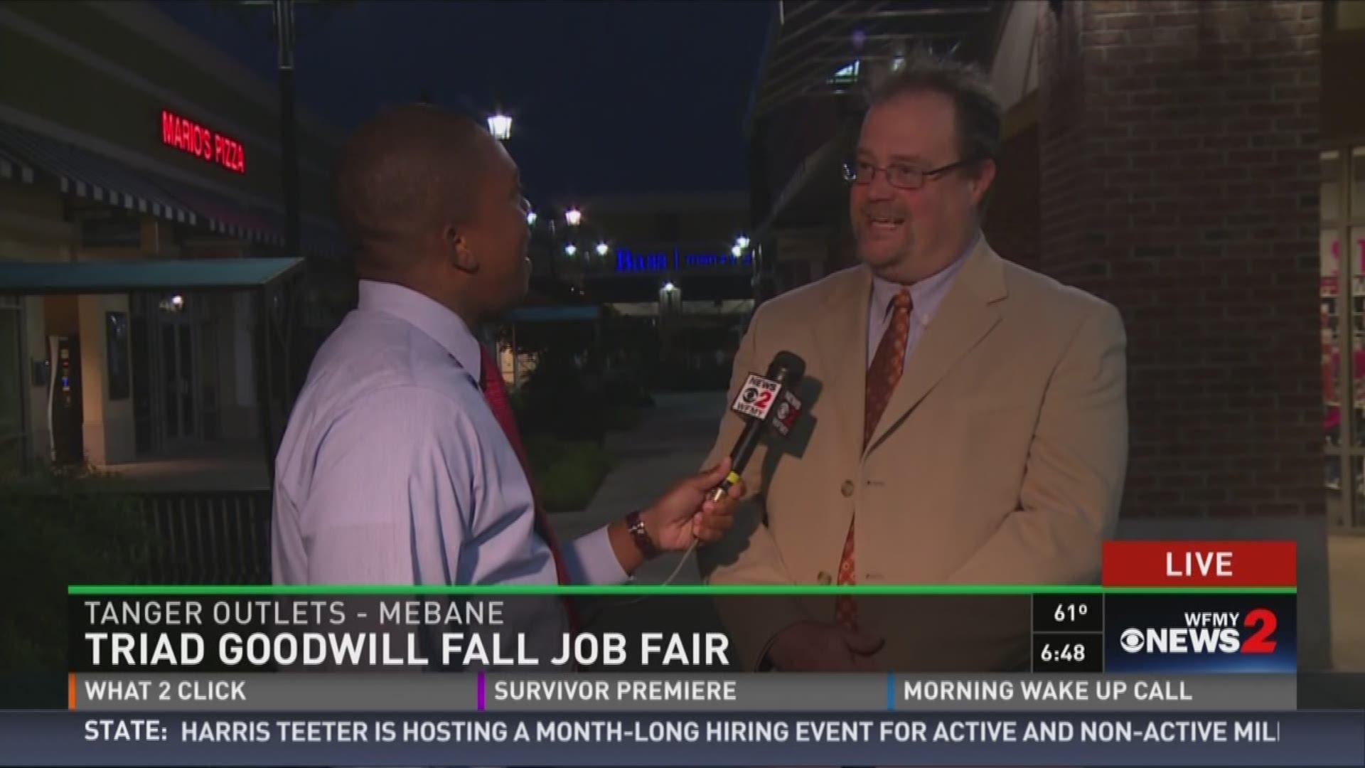 876a50ce1e6 Triad Goodwill To Host Annual Fall Job Fair