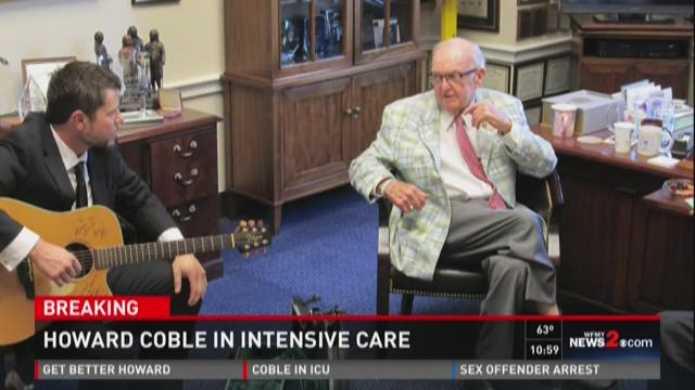 Congressman Howard Coble reflects on 30 years in office