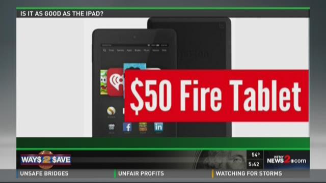 Top Tech: Amazon Fire HD Tablet Deal