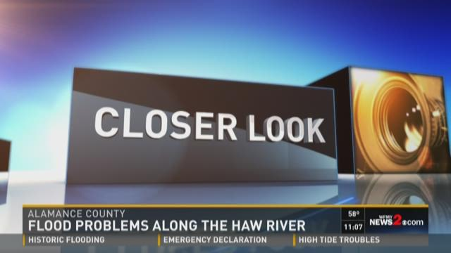 Flood Problems Along The Haw River