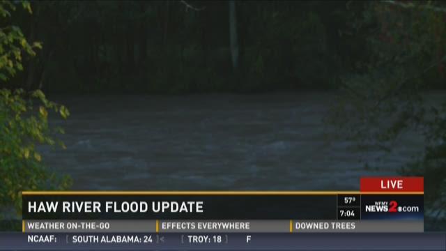 Haw River Flood Update 3