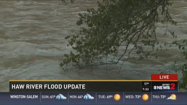 Haw River Flood Update 4