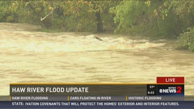 Haw River Flood Update 5