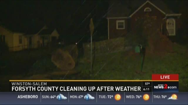 Forsyth County Cleaning Up After Weather 1