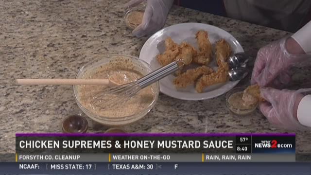 Harper's Restaurant:  Honey Mustard Sauce