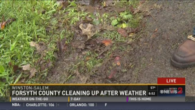 Forsyth County Cleaning Up After Weather 6