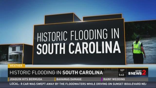 Historic Flooding In South Carolina 1