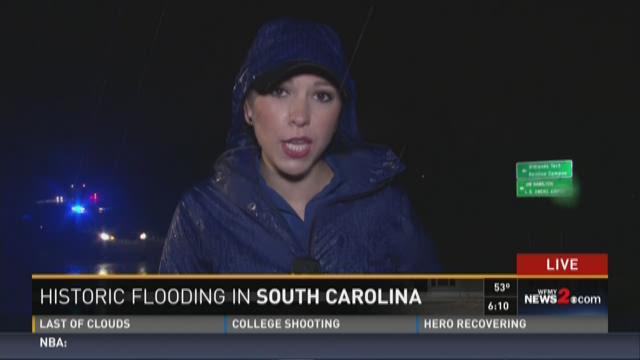 Historic Flooding In South Carolina 2