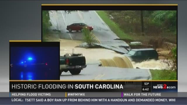 Historic Flooding In South Carolina 3