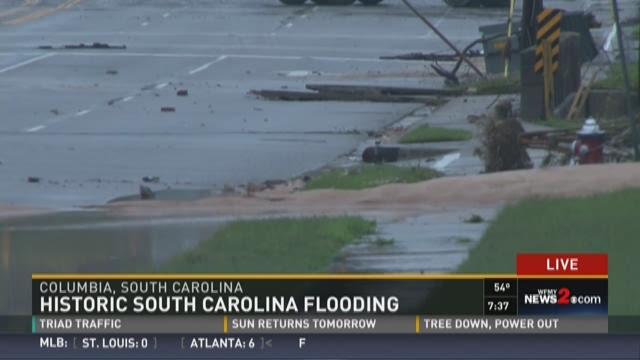 Historic Flooding In South Carolina 5