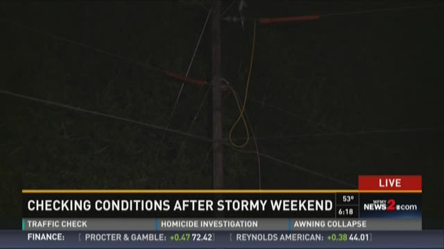 Power outages in Forsyth County