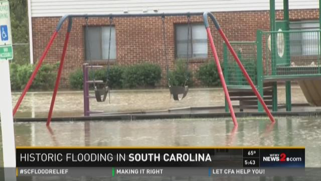 Chad Silber Recaps Flooding In South Carolina