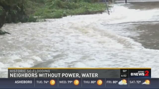 SC Neighbors Without Power, Water