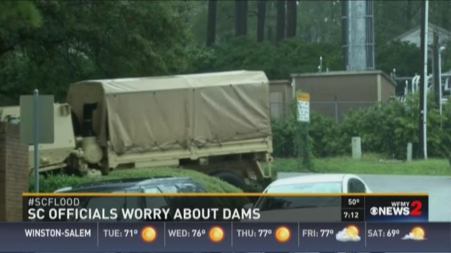 SC Officials Worry About Dams