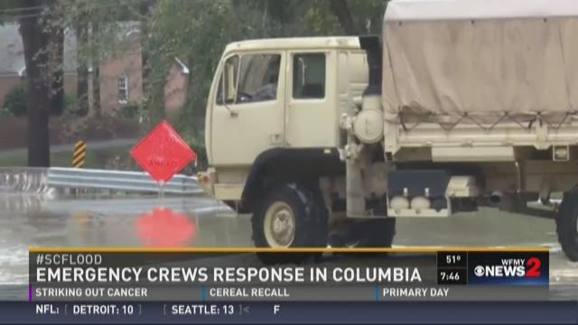 Emergency Crew Response in Columbia, SC