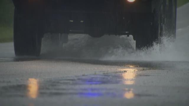Storm damage along NC 12 on Monday.