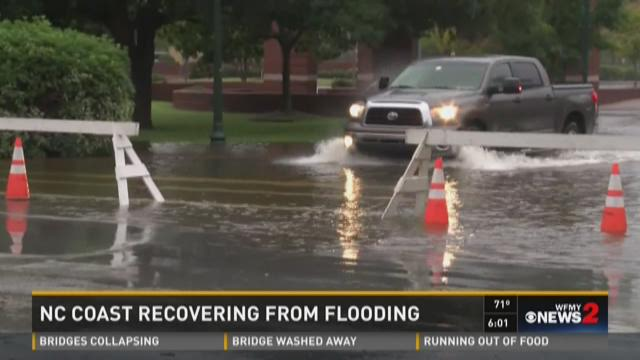 NC Coast Recovers From Flooding