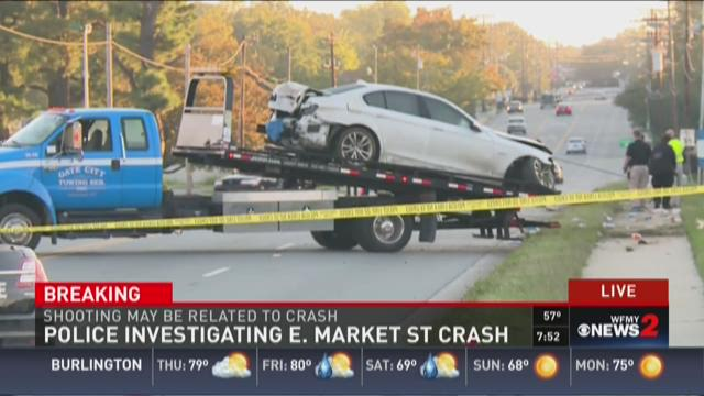 Police Investigating E. Market Street Crash