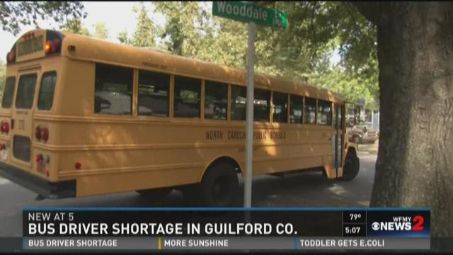 Bus Driver Shortage In The Triad