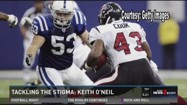 Fullback Jameel Cook #43 of the Houston Texans evades
