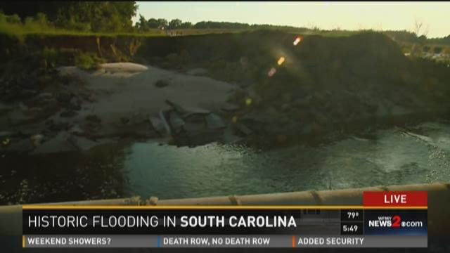 North Vs South Carolina Dams