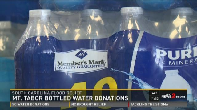 Mt. Tabor High School water collection for South Carolina