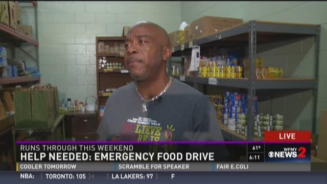 Help Needed:  Emergency Food Drive 1