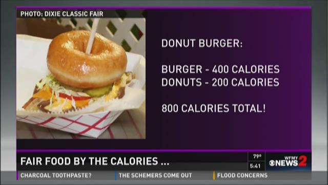 Surprising Calorie Counts For Fair Food
