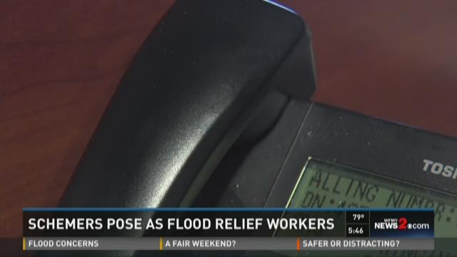 Scammers Posing As Flood Relief Workers Are Making Calls