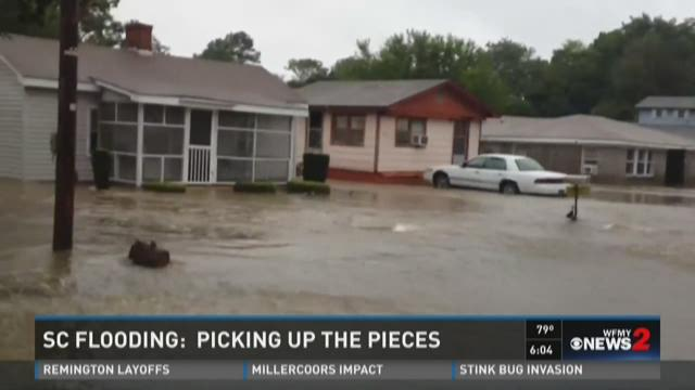 Parts of SC to Flood a Second Time, People Told to Evacuate