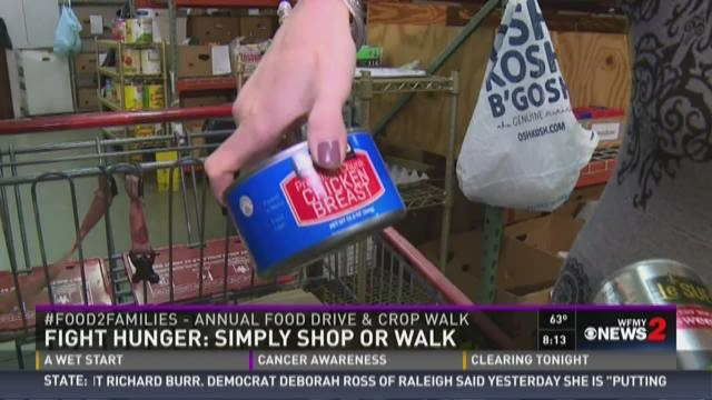 Fight Hunger:  Simply Shop or Walk