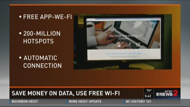 Save Your Data, Use Free WI-FI Instead